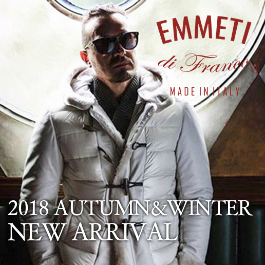 EMMETI 2018AW NEW ARRIVAL