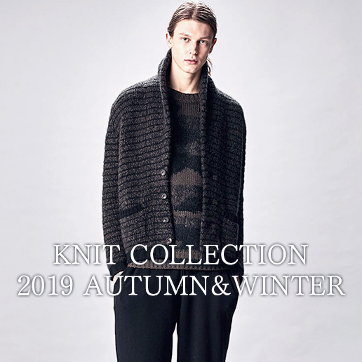 KNIT COLLECTION 2019AW