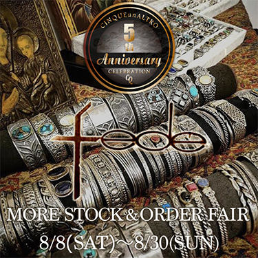 Progetto fede MORE STOCK&ORDER FAIR